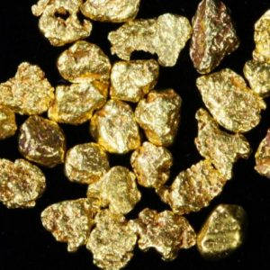 Heavy gold nuggets