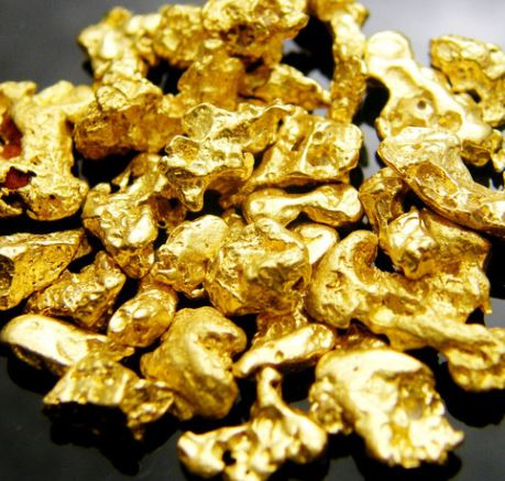 Natural African Gold Nuggets